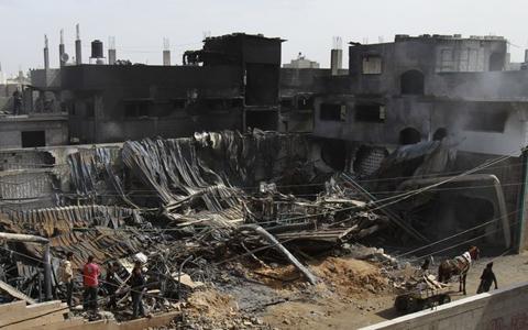 Guerra Israel e Palestina