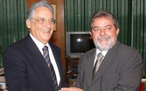 Lula e FHC
