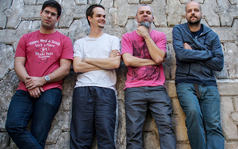 Michel Leme com o seu quarteto
