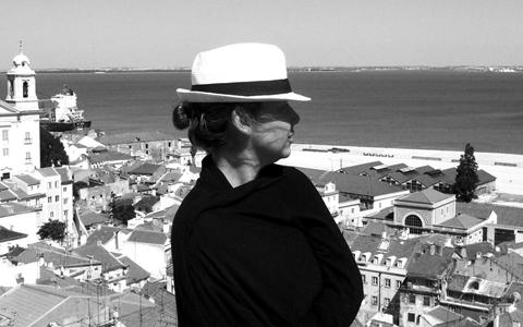A turismóloga e fotógrafa