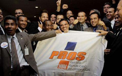 Parlamentares do PROS