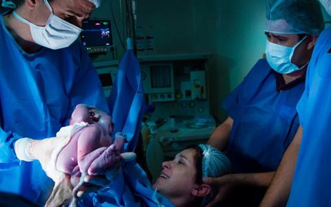 Documenta o parto