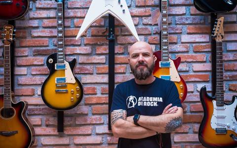 Fundador da Academia de Rock