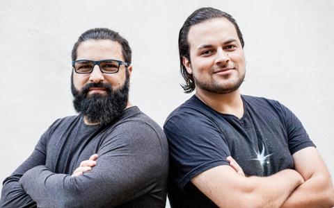 Os fundadores da startup